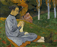 Girl from Savoy, 1890, serusier