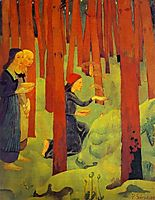 The Incantation (The Holy Wood), 1891, serusier