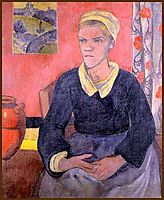 Louise (The Breton servant), 1890, serusier