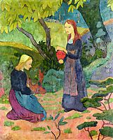 Madeline with the Offering, 1892, serusier