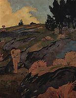 Melancholia, or Breton Eve, c.1890, serusier
