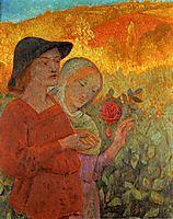 Mognonne Allons Voir si la Rose, 1910, serusier