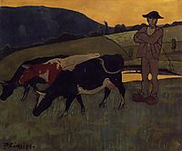 Peasant with Three Crows, 1893, serusier