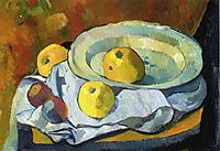 Plate of Apples, c.1891, serusier