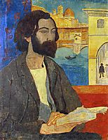 Portrait of Emile Bernard at Florence, 1893, serusier