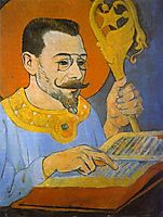 Portrait of Paul Ranson Dressed as a Prophet, 1890, serusier