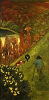 Shepherd in the Valley of Chateauneuf, 1917, serusier