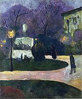 Square with Street Lamp, 1891, serusier