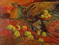 Still life with apples and jug, 1912, serusier