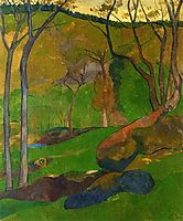 Undergrowth at Huelgoat, 1905, serusier