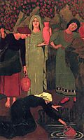 The Wait at the Well, 1897, serusier