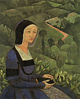 A Widow, 1919, serusier