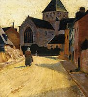 Woman in a Street, 1891, serusier