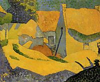 Yellow Farm at Pouldu, 1890, serusier