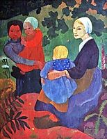 The Young Mothers, 1891, serusier