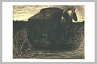The cart or the horse hauler, seurat