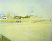 The Channel at Gravelines, Grand Fort-Philippe, 1888, seurat