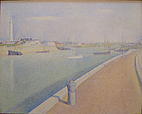 The Channel of Gravelines, Petit Fort Philippe, 1890, seurat