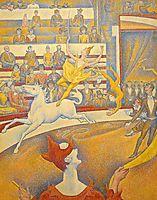 The Circus, 1890-91, seurat