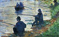 Fishermen, 1883, seurat