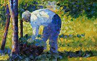 The Gardener, 1884, seurat