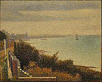 Grandcamp, Evening, 1885, seurat