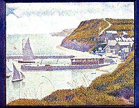 Harbour at Port-en-Bessin at High Tide, 1888, seurat