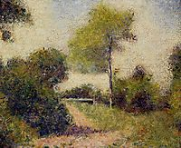 The Hedge (also known as The Clearing), 1882, seurat