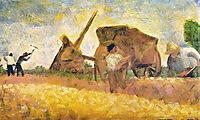 Les Terrassiers, 1882, seurat