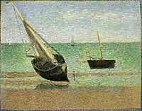 Low Tide at Grandcamp, 1885, seurat