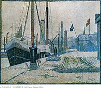 The Maria, Honfleur, 1886, seurat