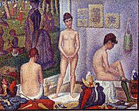 The Models, 1888, seurat