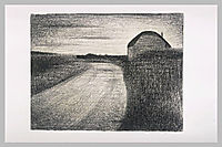 On the road, 1882, seurat