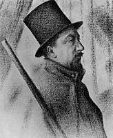Portrait of Paul Signac, 1890, seurat