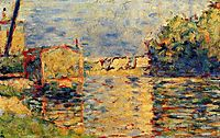 River-s Edge, 1884, seurat
