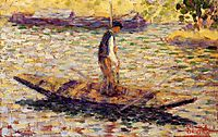 Riverman, 1884, seurat