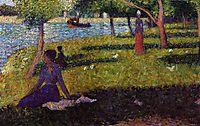 Seated and Standing Woman, 1884, seurat