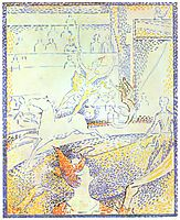 Study for -The Circus-, 1891, seurat