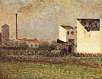 Suburb, 1882-83, seurat