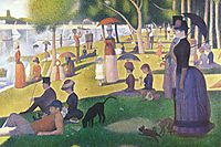 A Sunday on La Grande Jatte, 1884-86, seurat