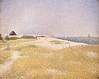View of Fort Samson, 1885, seurat