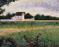 View of l-lle-de-France, 1882, seurat