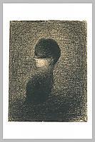 Voilette, 1883, seurat