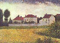 White Houses, Ville d-Avray, 1882, seurat