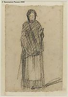 Woman standing, 1881, seurat