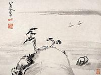 Landscape (Album Leaf), shanren