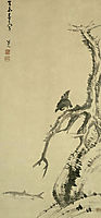 Mynah Bird on an Old Tree, 1703, shanren