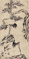 Pine and Cranes, shanren