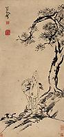 Pine and Deer, shanren