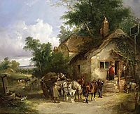 A Halt at the Inn, shayer